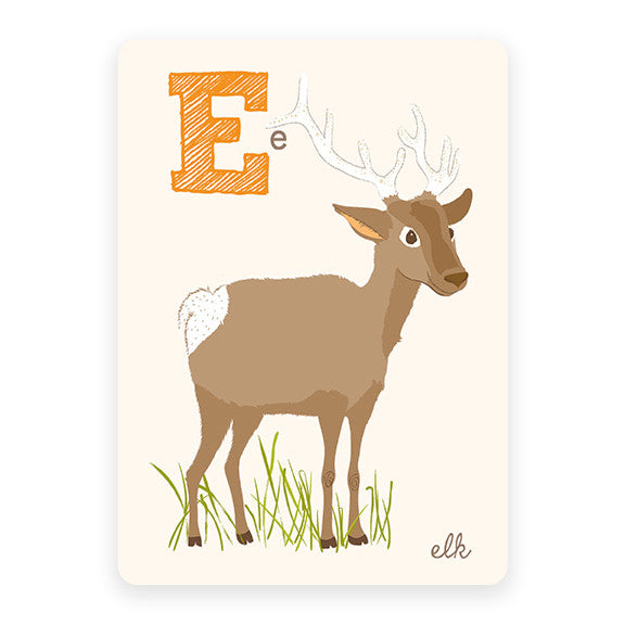 Elk | ABC Card
