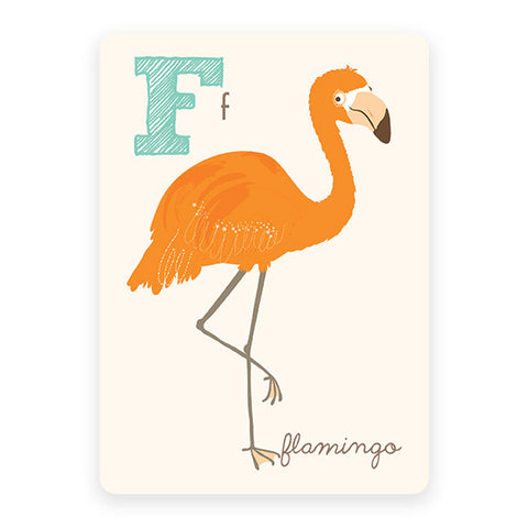 Flamingo | ABC Card