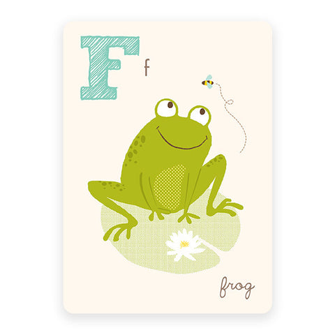 Frog | ABC Card