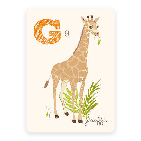 Giraffe | ABC Card