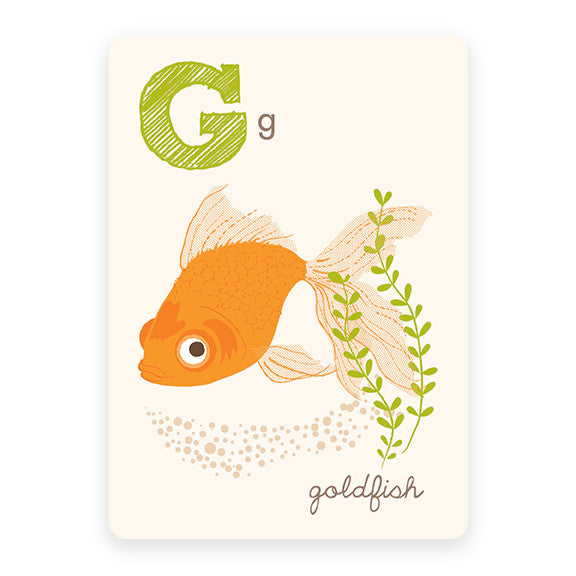 Goldfish | ABC Card