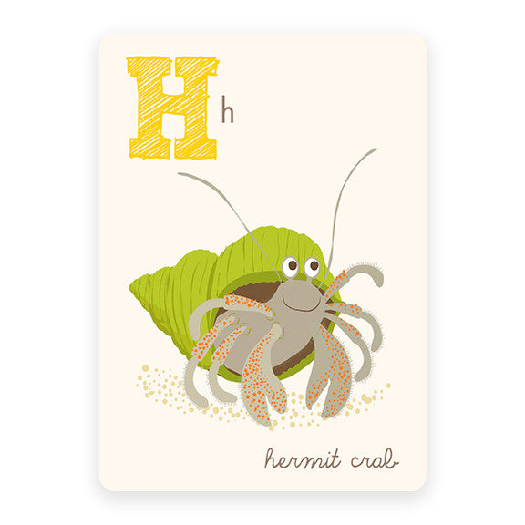 Hermit Crab | ABC Card