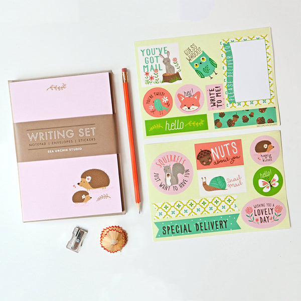 Writing Stationery Set | Hedgehog