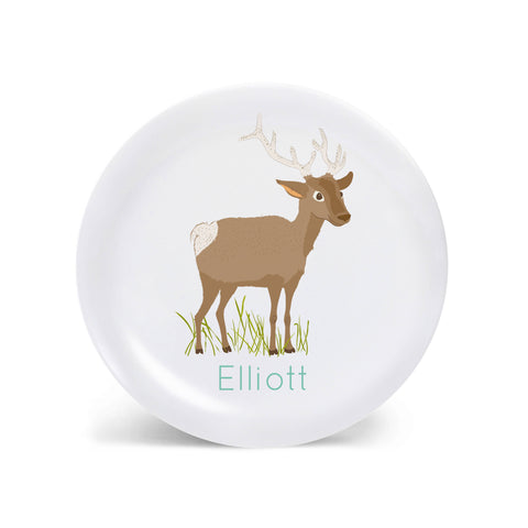 Kids PLATE - Personalized Elk Dish for kids