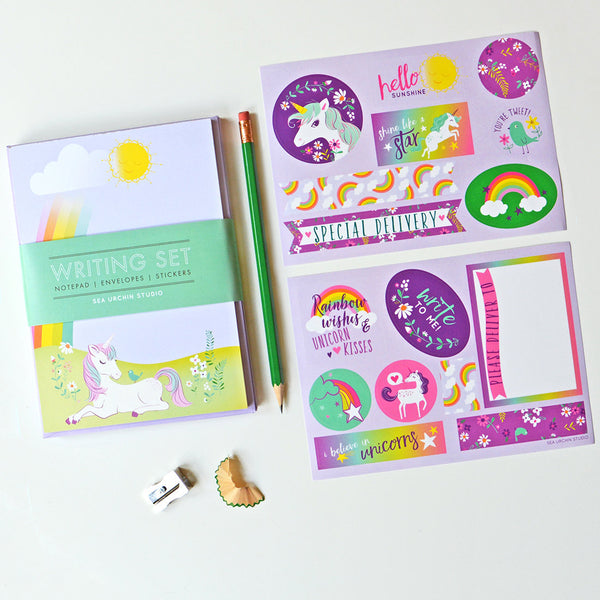 Writing Stationery Set | Unicorn