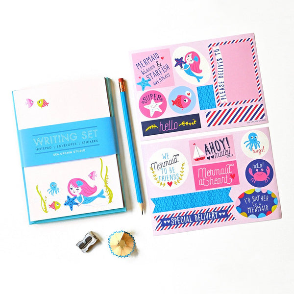 Writing Stationery Set | Mermaid