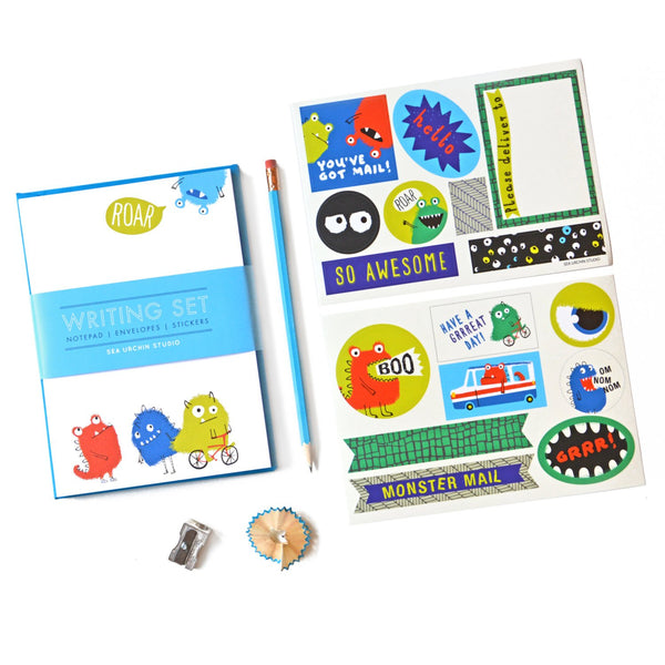 Writing Stationery Set | Monsters