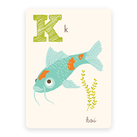 Koi | ABC Card