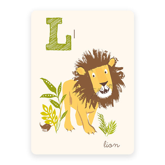 Lion | ABC Card