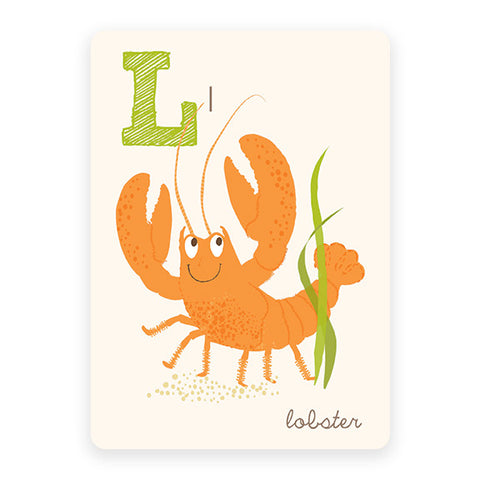Lobster | ABC Card