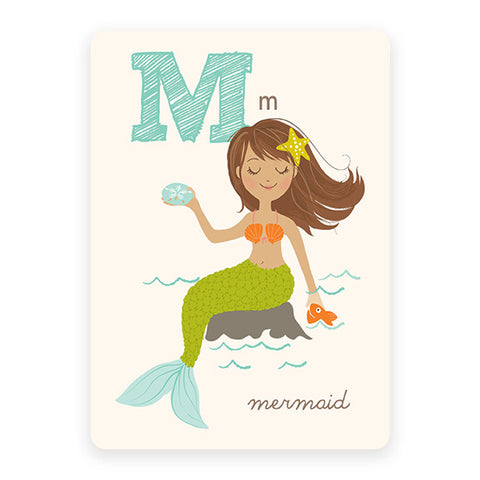 Mermaid | ABC Card