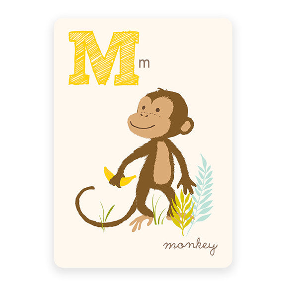Monkey | ABC Card