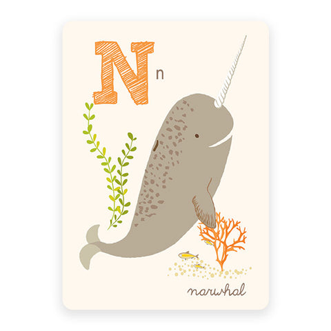 Narwhal | ABC Card