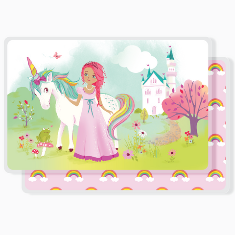 Placemat - Princess & Unicorn