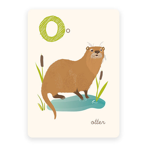 Otter | ABC Card