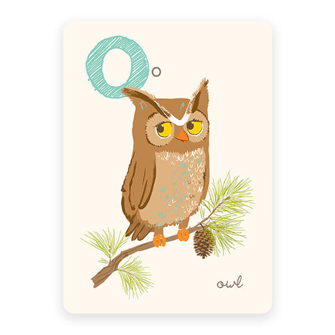 Owl | ABC Card