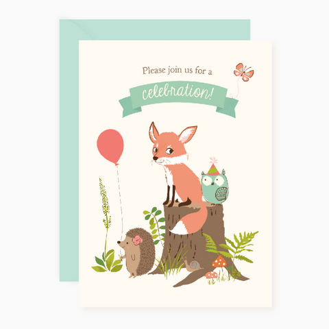 Printable - Woodland Party