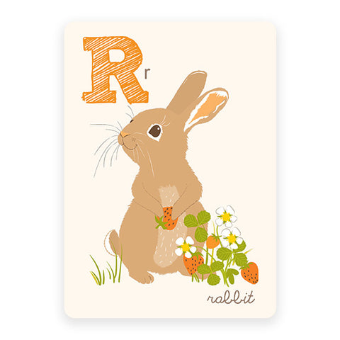 Rabbit | ABC Card