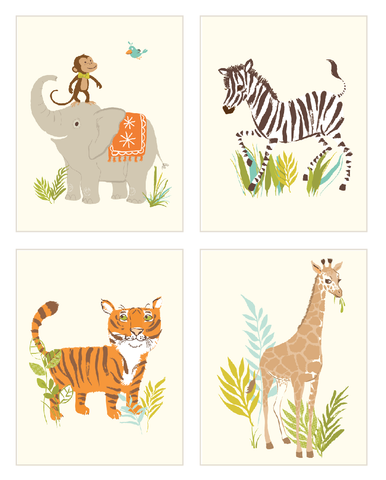 Safari Note Cards