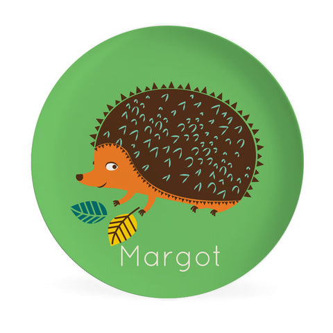 Plate - Hedgehog