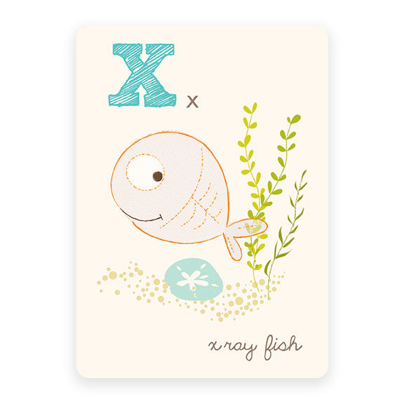 X-ray fish | ABC Card