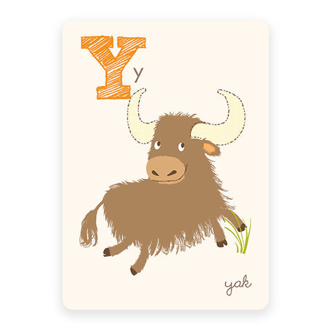 Yak | ABC Card