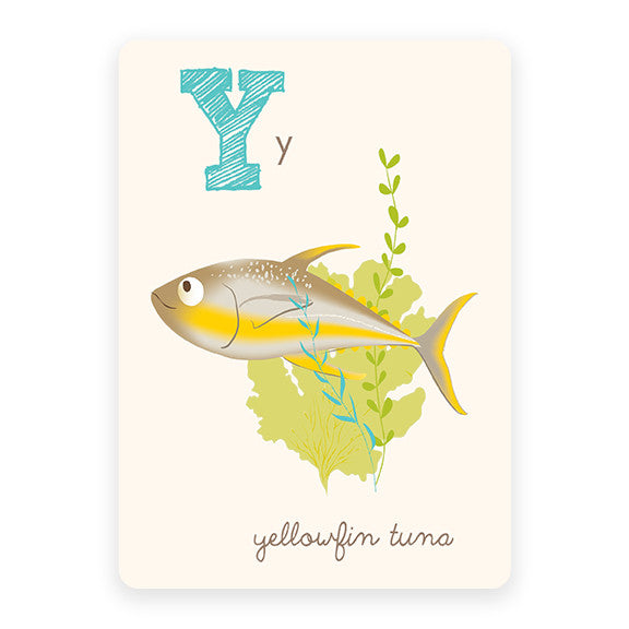 Yellowfin Tuna | ABC Card
