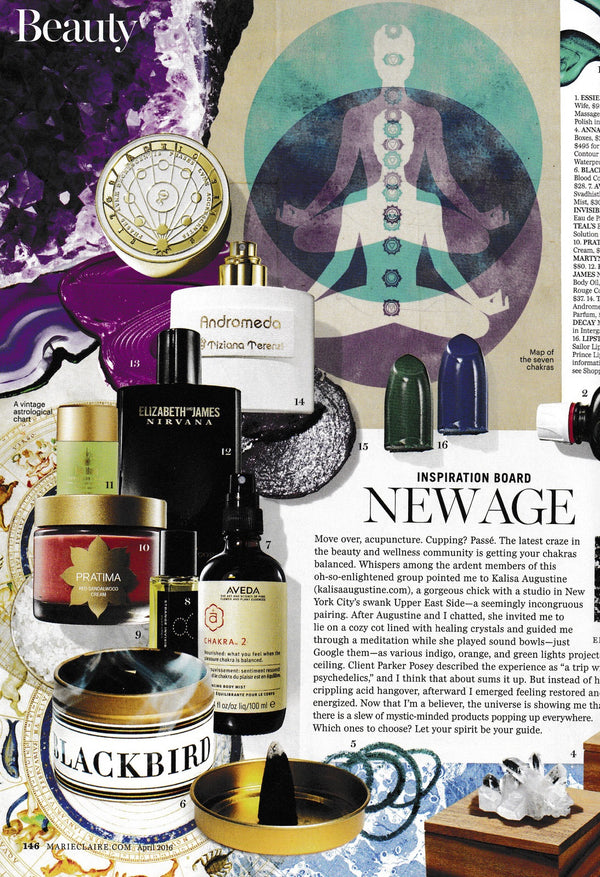 BLACKBIRD INCENSE IN MARIE CLAIRE