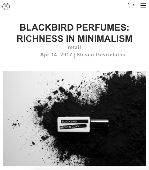Blackbird on StyleZeitgeist - Richness in Minimalism