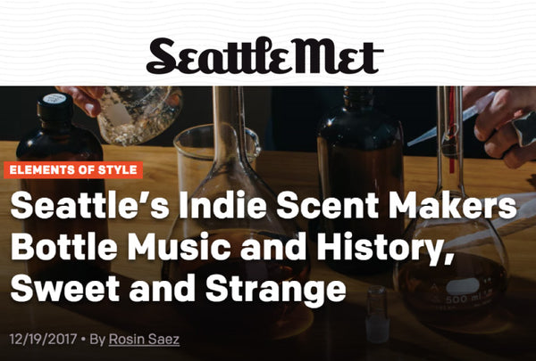 SeattleMet features Seattle scent makers