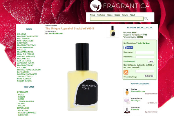 Fragrantica gets the unique appeal of Y06-S