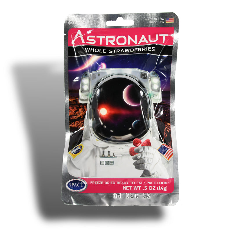 Space Camp Snacks - Astronaut Strawberries