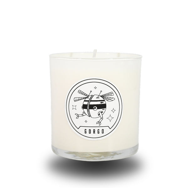 GORGO CANDLE WHITE