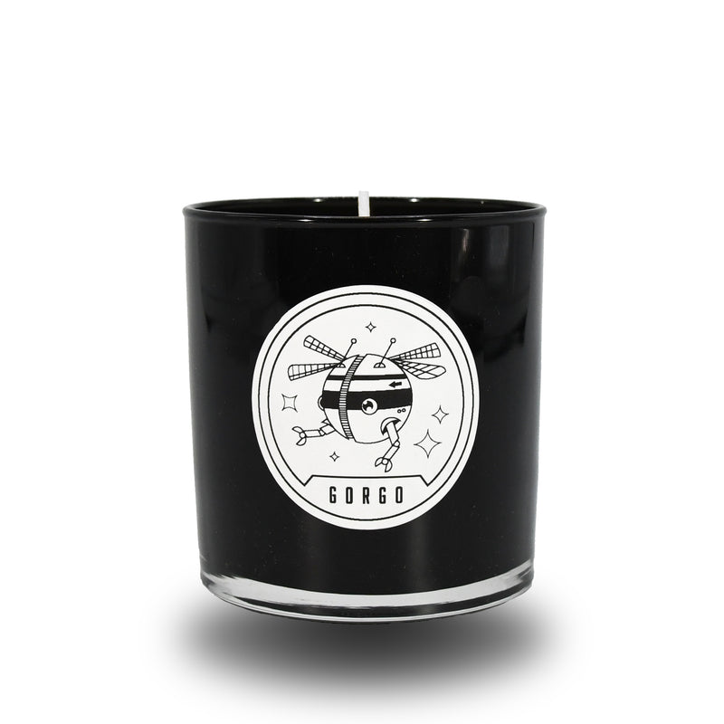 GORGO CANDLE BLACK
