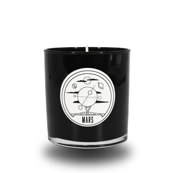 MARS CANDLE BLACK