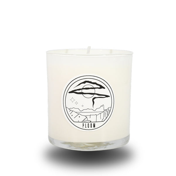 PLOOM CANDLE WHITE