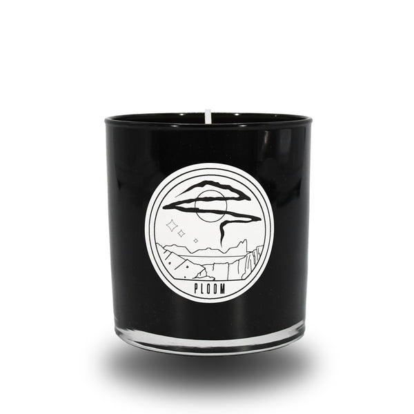 PLOOM CANDLE BLACK