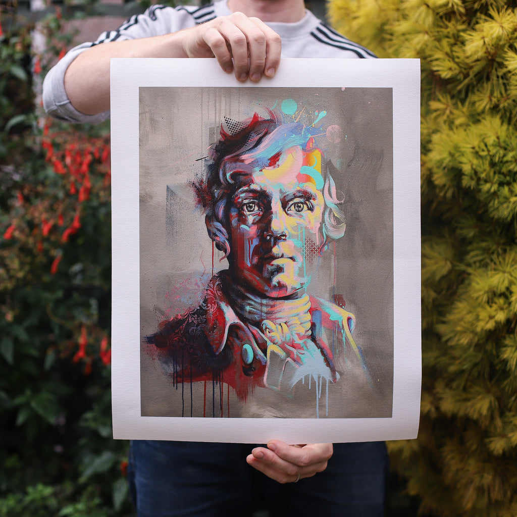 Robert Burns Giclee Print
