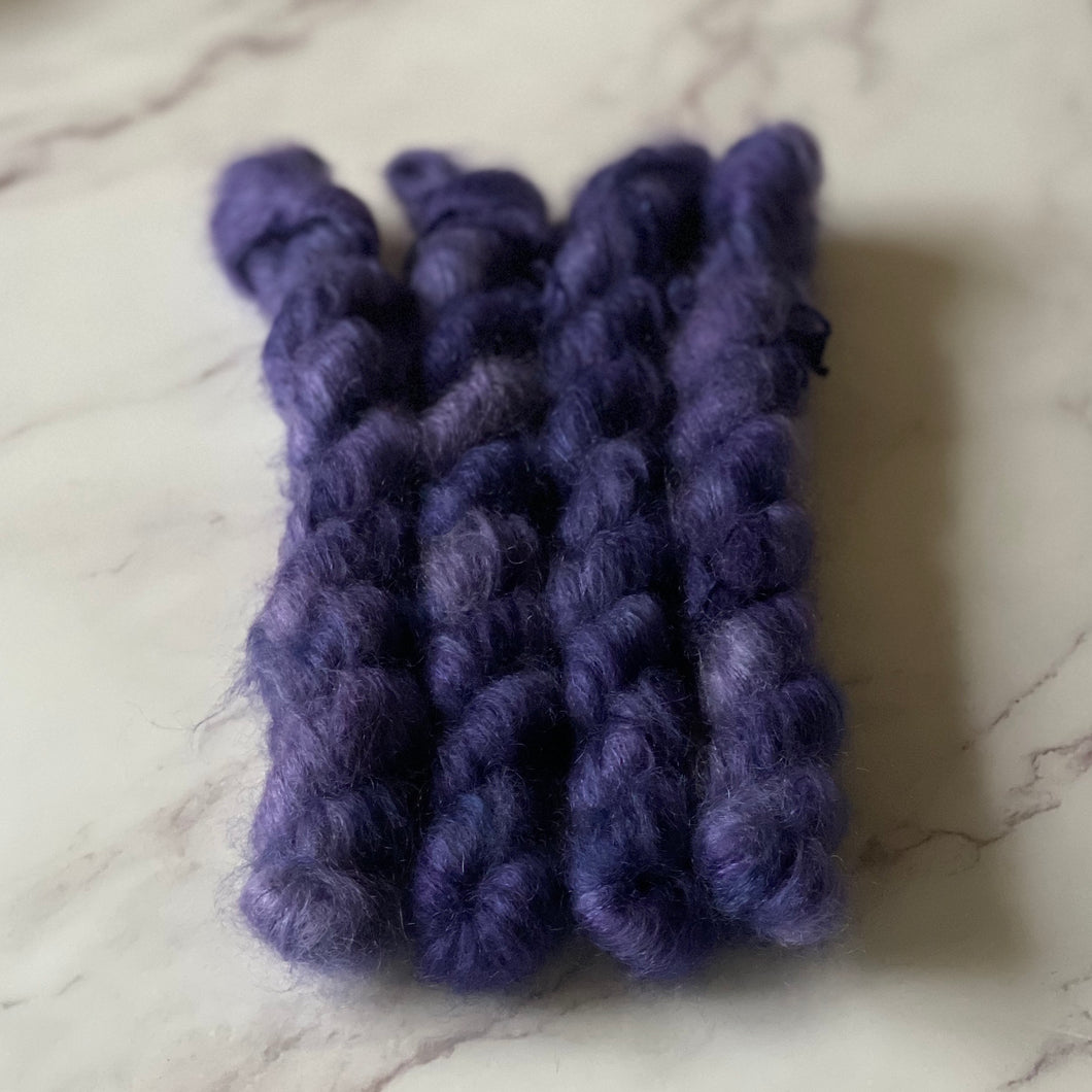 Violet Beauregarde - Fluff - Mini Skein