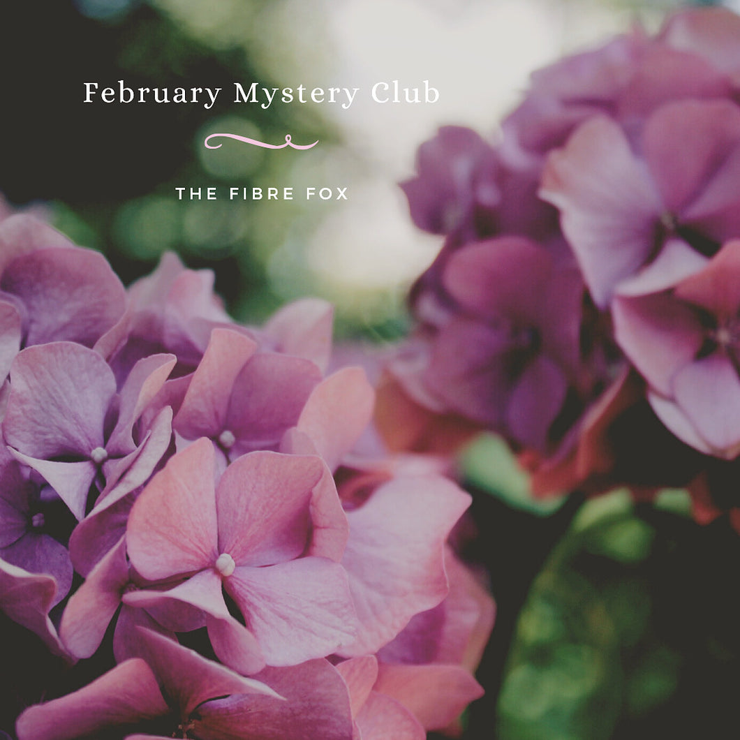 February Mystery Club - Dyed to order