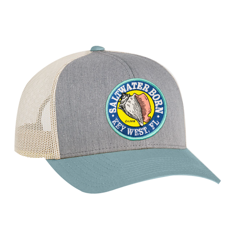 Key West Structured Mesh Trucker Hat