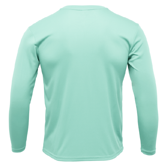 Clean Redfish Long Sleeve UPF 50+ Dry-Fit Shirt