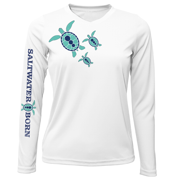 Baby Turtles Long Sleeve UPF 50+ Dry-Fit Shirt