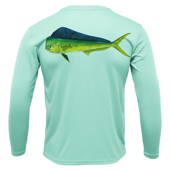 Siesta Key Mahi Long Sleeve UPF 50+ Dry-Fit Shirt