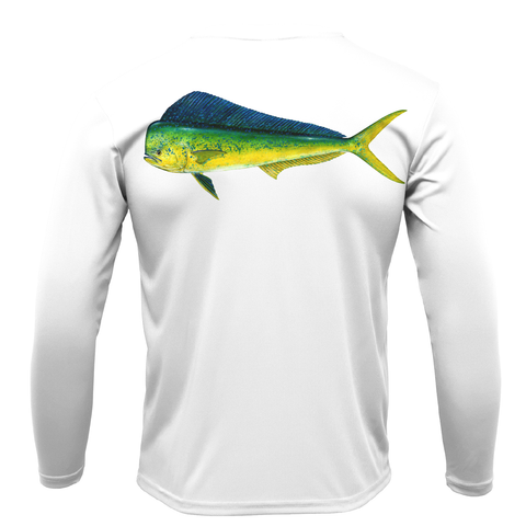 Mahi Boys Long Sleeve UPF 50+ Dry-Fit Shirt
