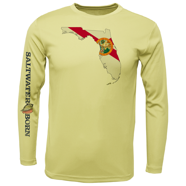 State of Florida Boys Long Sleeve UPF 50+ Dry-Fit Shirt