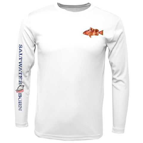 Clean Grouper Long Sleeve UPF 50+ Dry-Fit Shirt