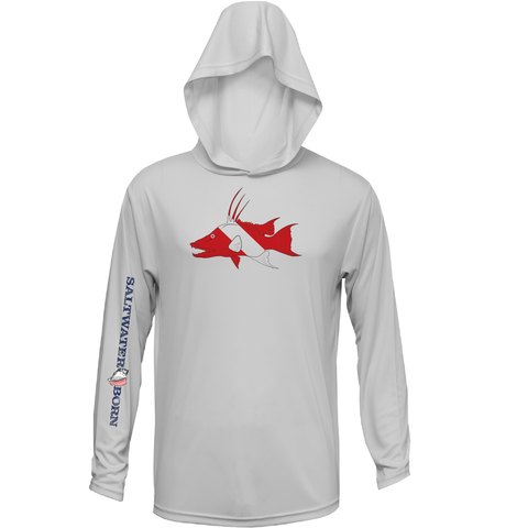 Hogfish Diver Long Sleeve 50+ Dry-Fit Hoody