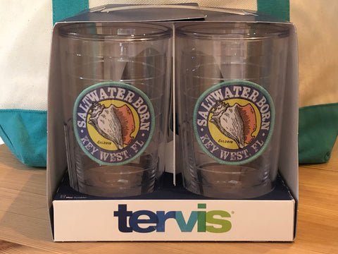 4 Pack 16 oz. Saltwater Born Tervis Tumblers Set