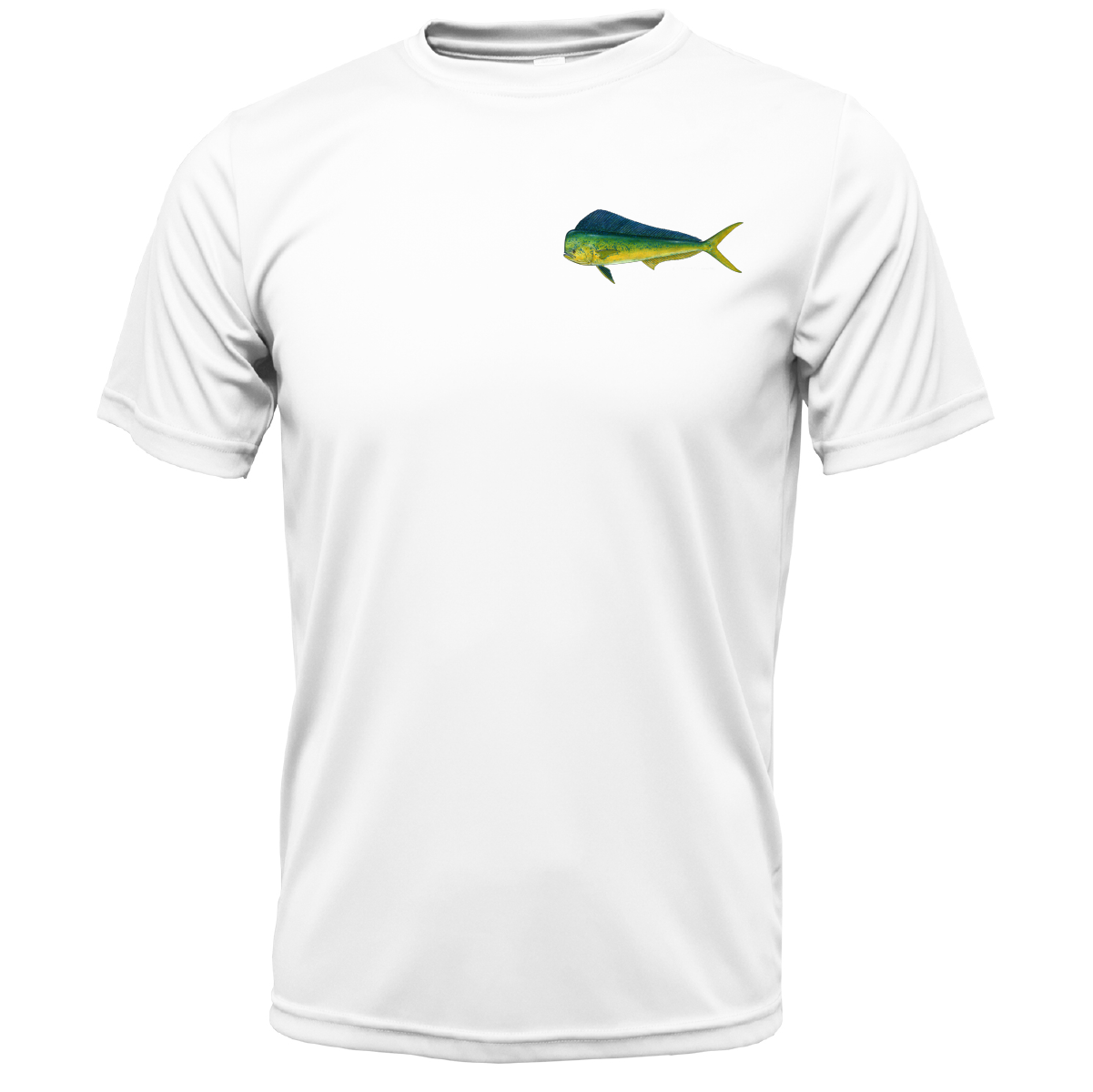 Mahi on Chest Short Sleeve UPF 50+ Dry-Fit Shirt